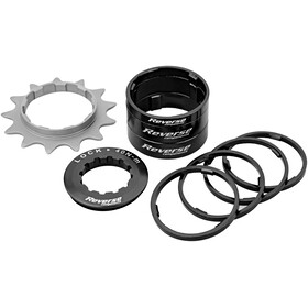 Reverse Single Speed Kit Kassett Svart